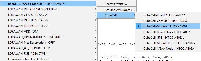 Arduino CubeCell